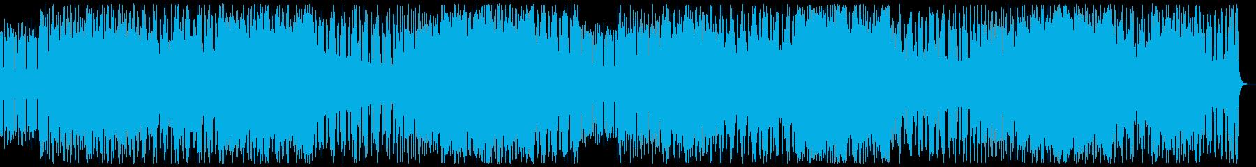和楽器・和風・サムライヒーロー:フルx2の再生済みの波形