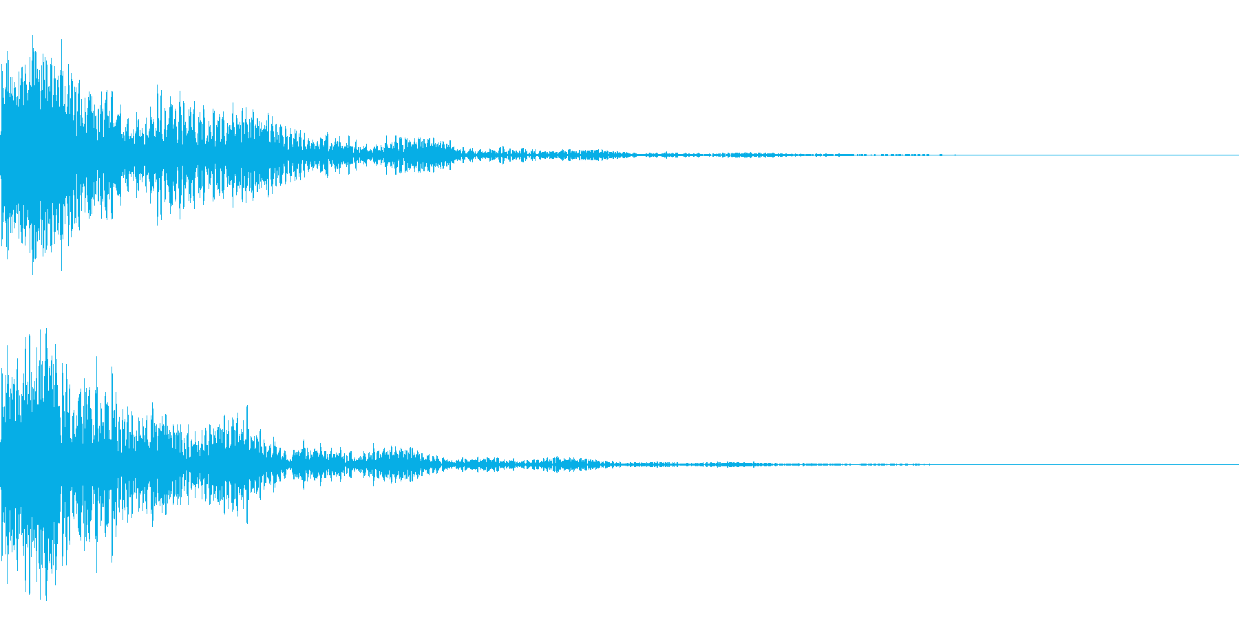 太鼓と三味線の和風インパクトジングル!9の再生済みの波形
