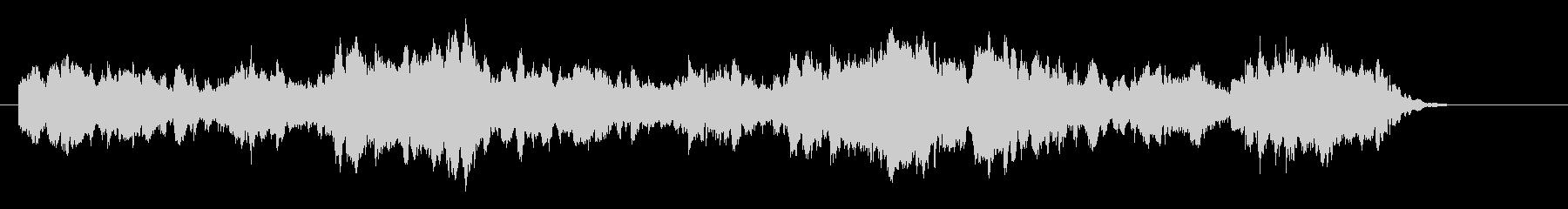 ゆったりとした和風な曲/約30秒のCM用の未再生の波形