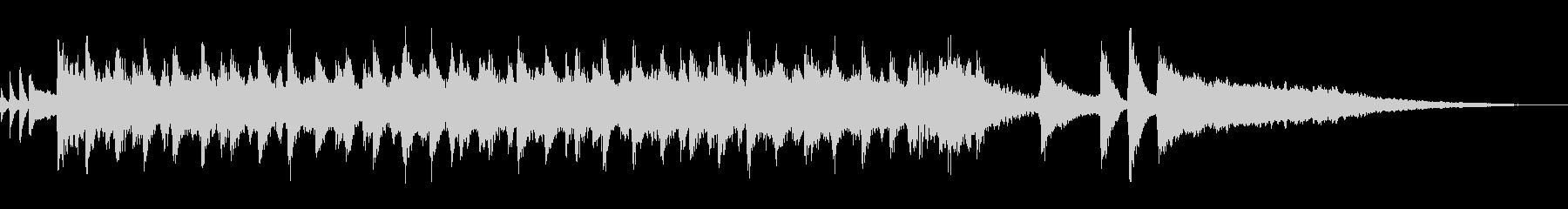 コーラス/明るい・楽しいポップBGM短尺の未再生の波形