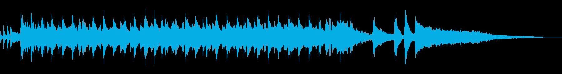 コーラス/明るい・楽しいポップBGM短尺の再生済みの波形