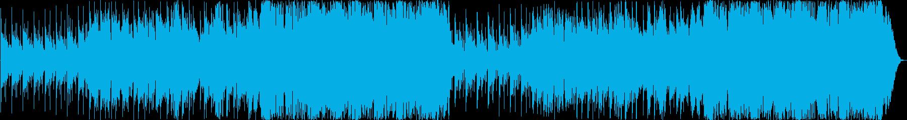 オーボエメインの爽やかポップスの再生済みの波形