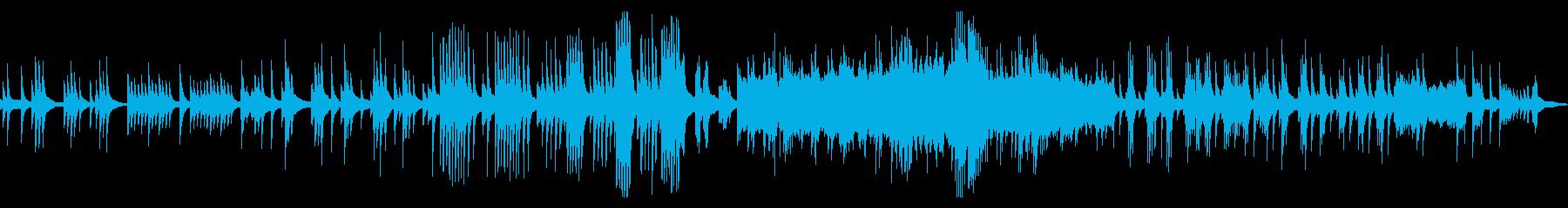 定番クラシック、月の光、ドビュッシーの再生済みの波形