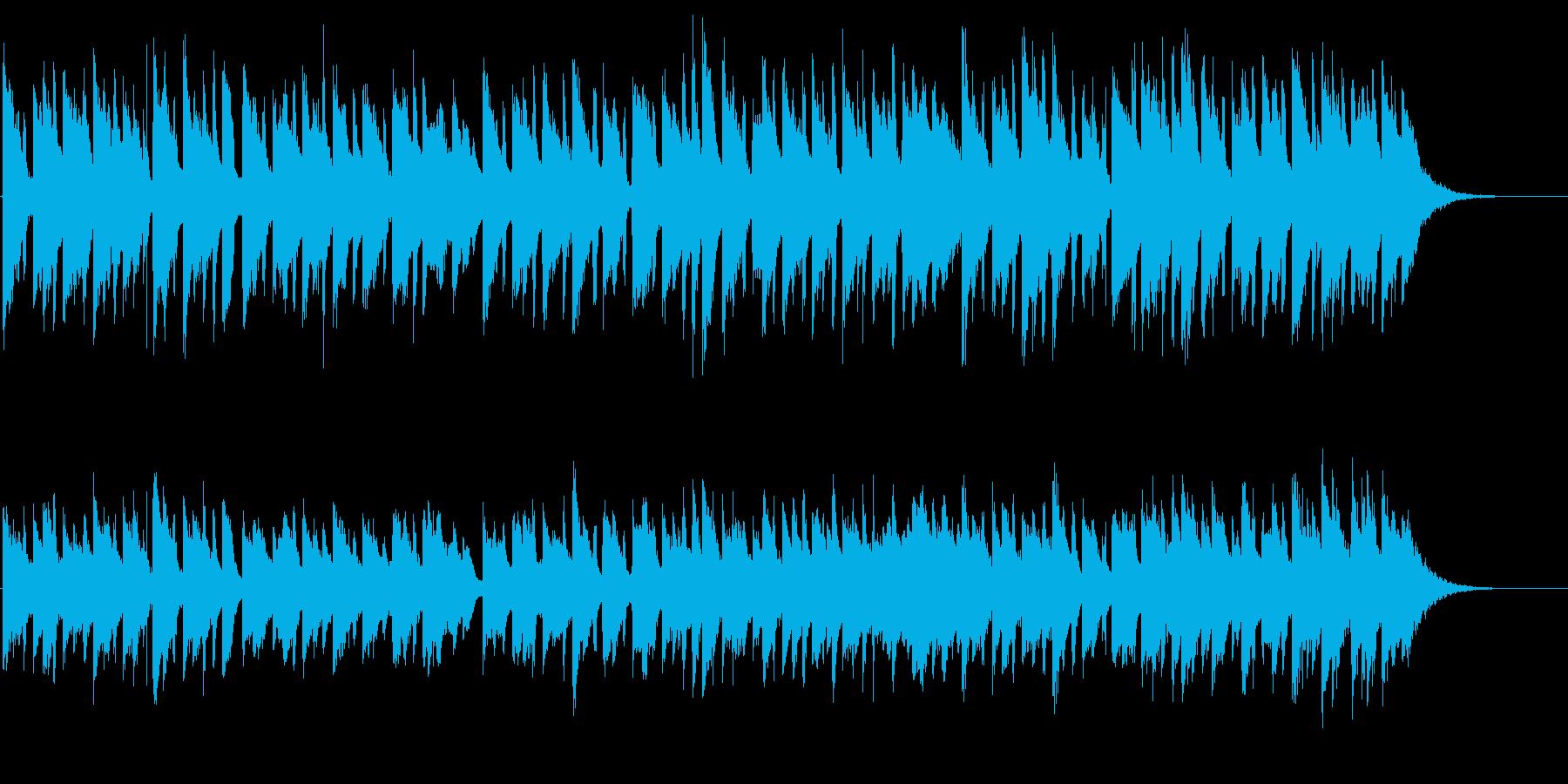 胸がきゅっと苦しくなる生ギターバラード2の再生済みの波形