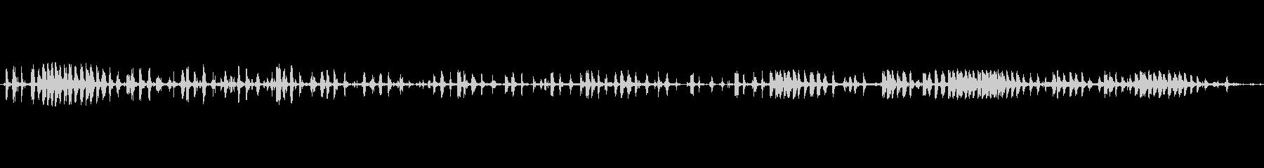 チェーンプルガラガラプーリーdの未再生の波形