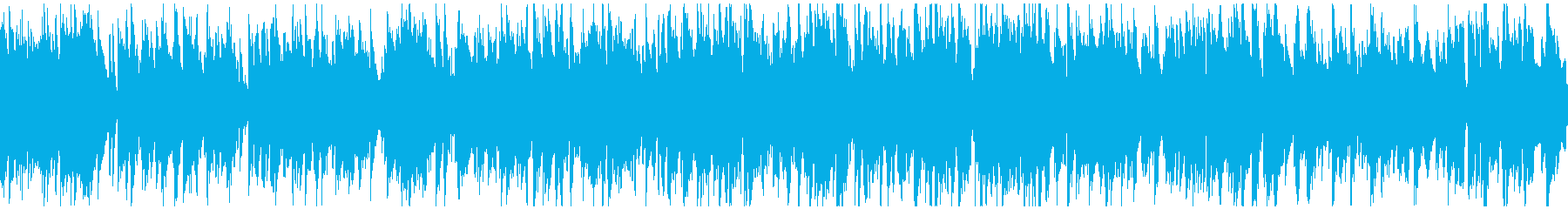 ウキウキする軽快なジャズ ※ループ仕様版の再生済みの波形