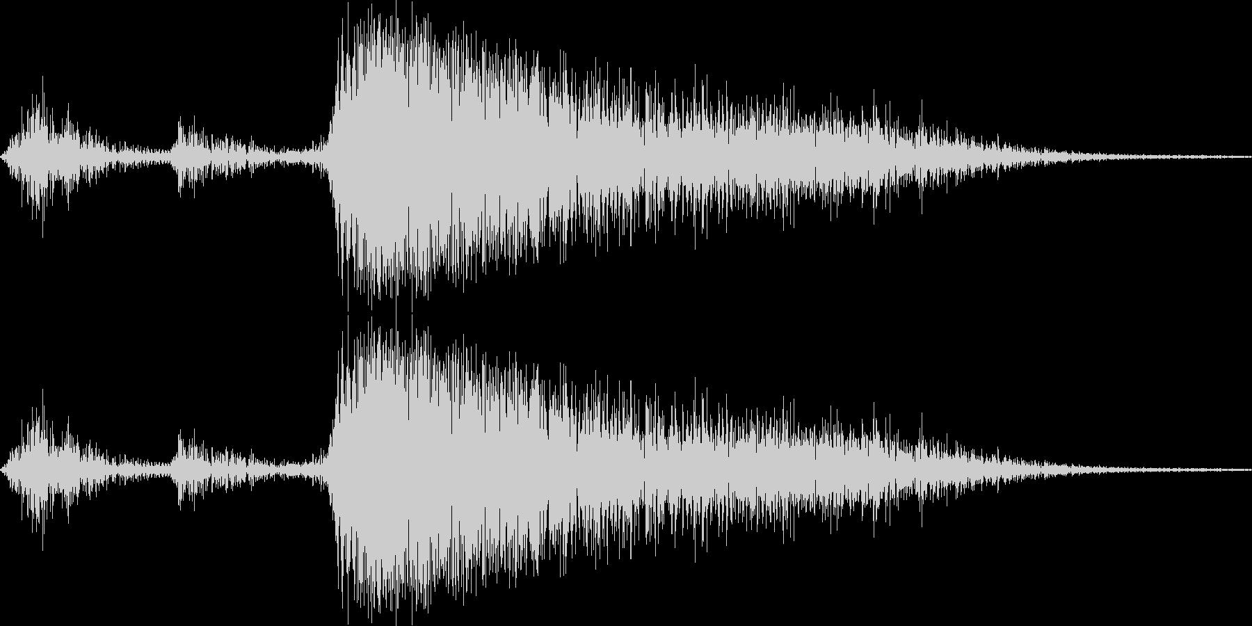 プシュッ(缶ビール・炭酸飲料を開ける音)の未再生の波形