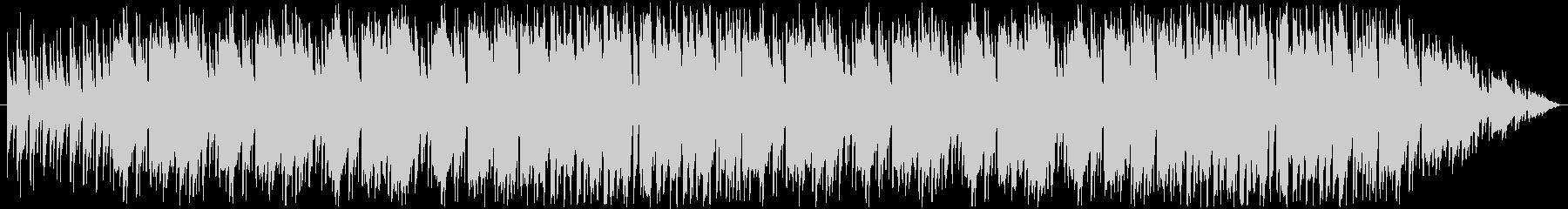ほのぼのパズルゲーム向け日常BGMの未再生の波形