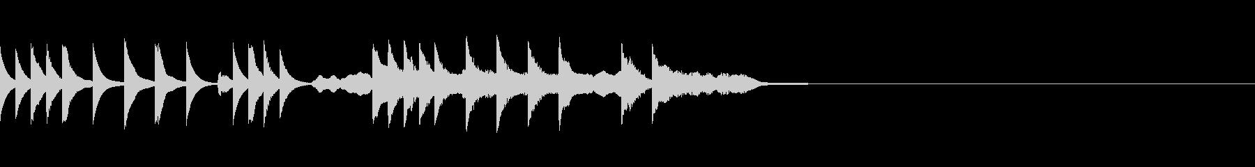 メルヘンチックな曲 /CMの未再生の波形