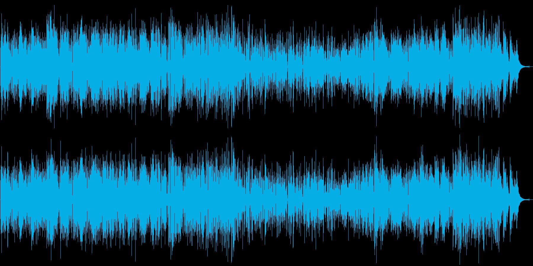バリトンサックスとギターのボサノバDuoの再生済みの波形