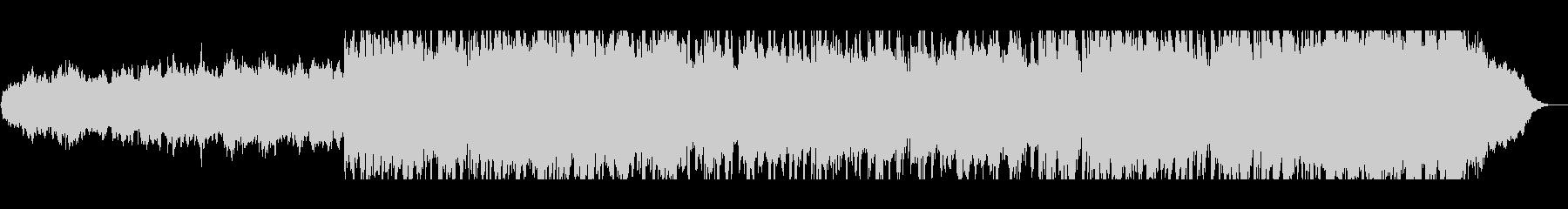 バイオリンとピアノのサウンドトラックの未再生の波形