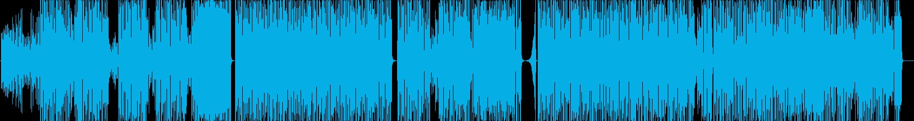 エレクトロファンク。の再生済みの波形