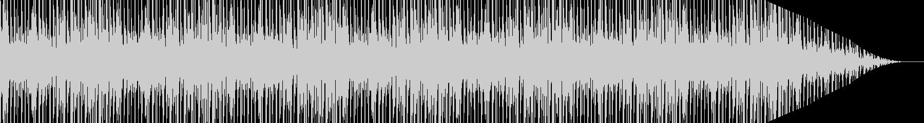 軽快なリズムで弾むような明るいポップ曲の未再生の波形