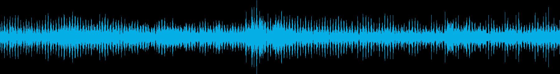 水中モーターの再生済みの波形
