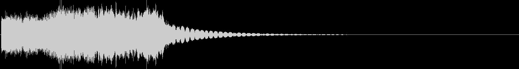 ゲームのステージクリア音の未再生の波形