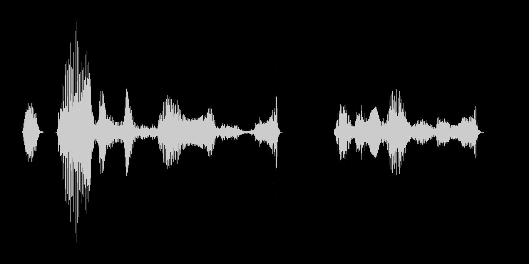 オカエリナサイマセ ゴシュジンサマの未再生の波形