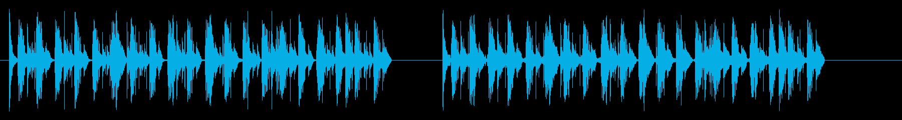 楽しいマシン-2バージョンの再生済みの波形