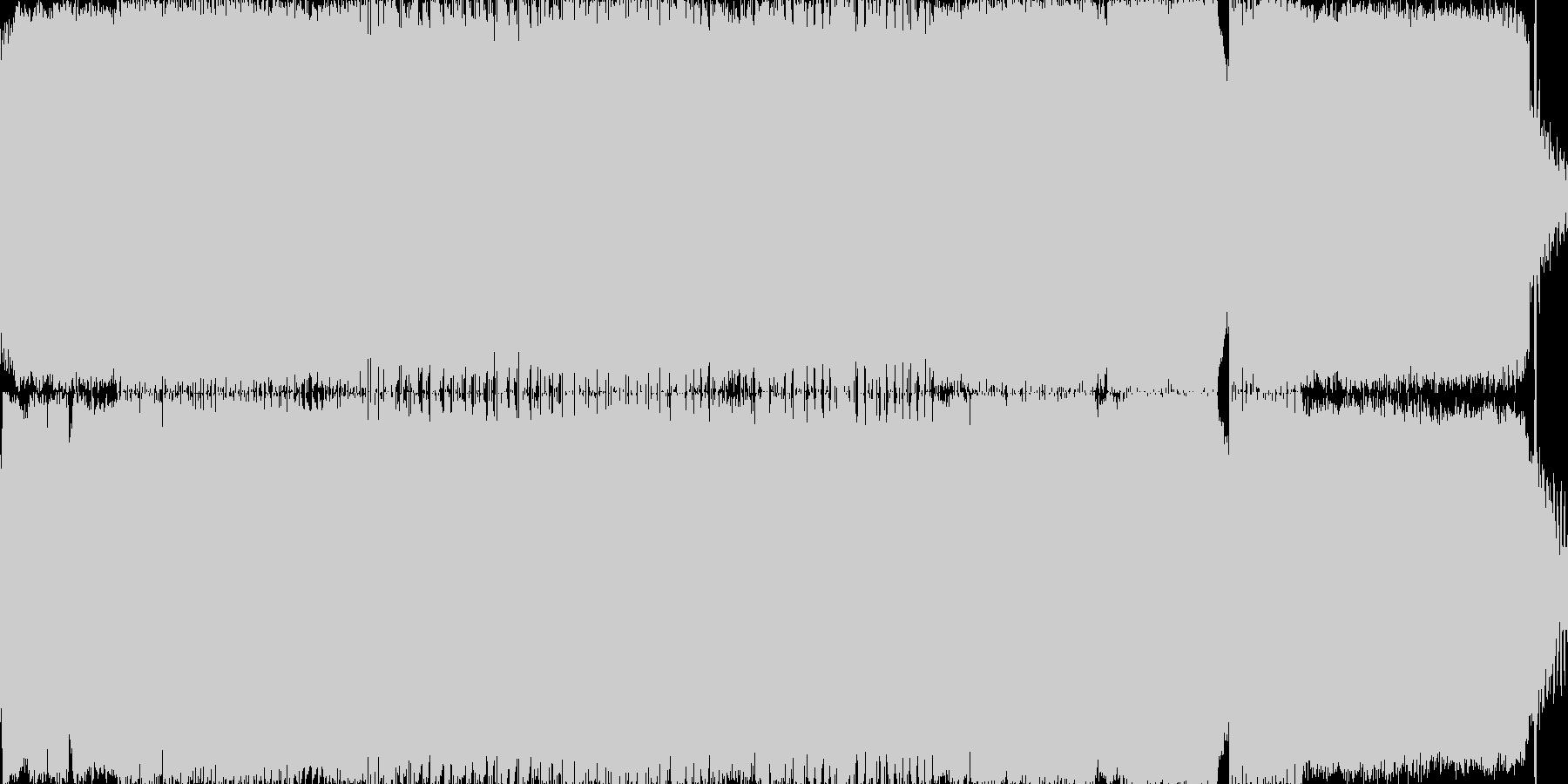 UndErgrOUnd tEchnO …の未再生の波形