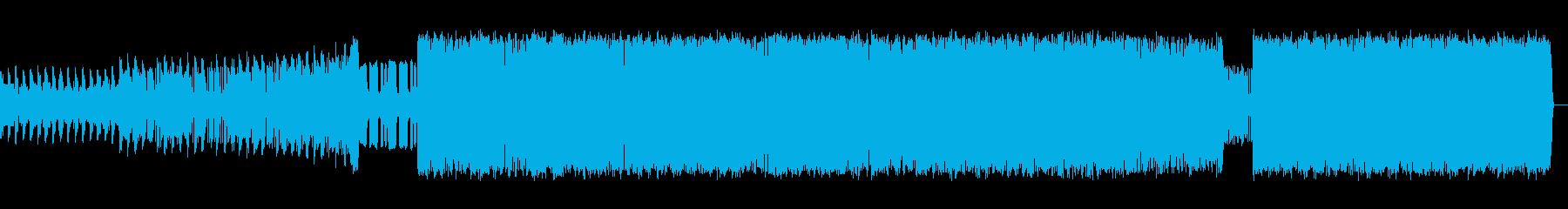 ベース音のきいた挑戦的なポップスの再生済みの波形