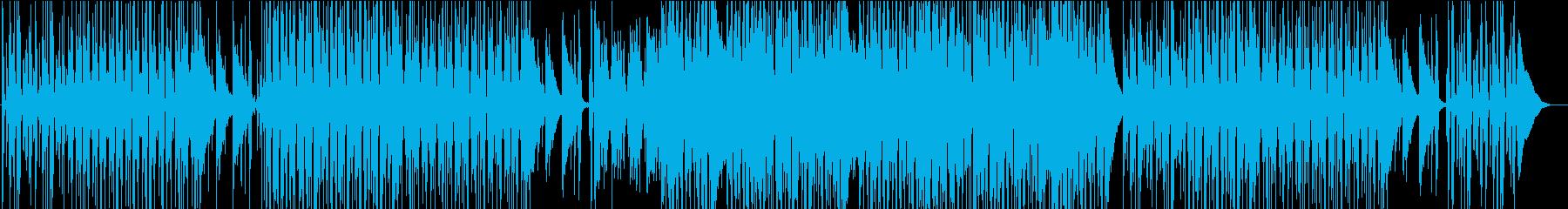 ギターいっぱいのゆったりカントリーの再生済みの波形