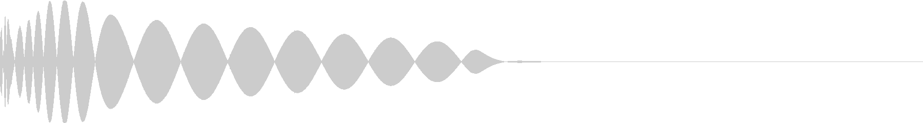 DTM Kick 40 オリジナル音源の未再生の波形