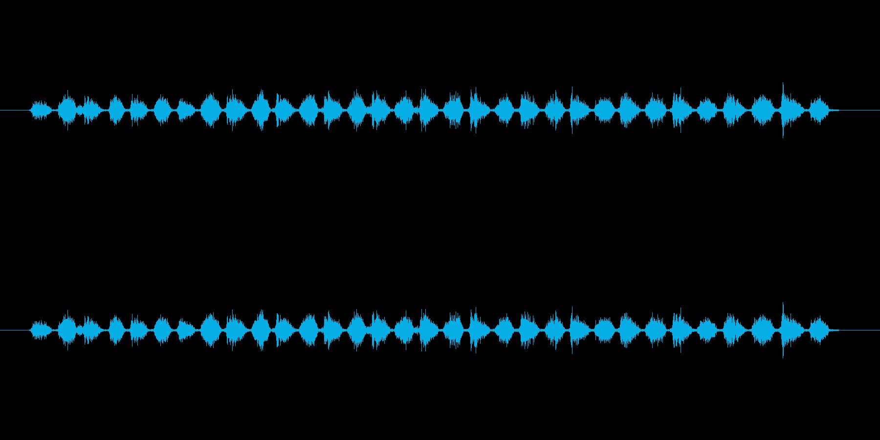 【消しゴム01-6(こする)】の再生済みの波形