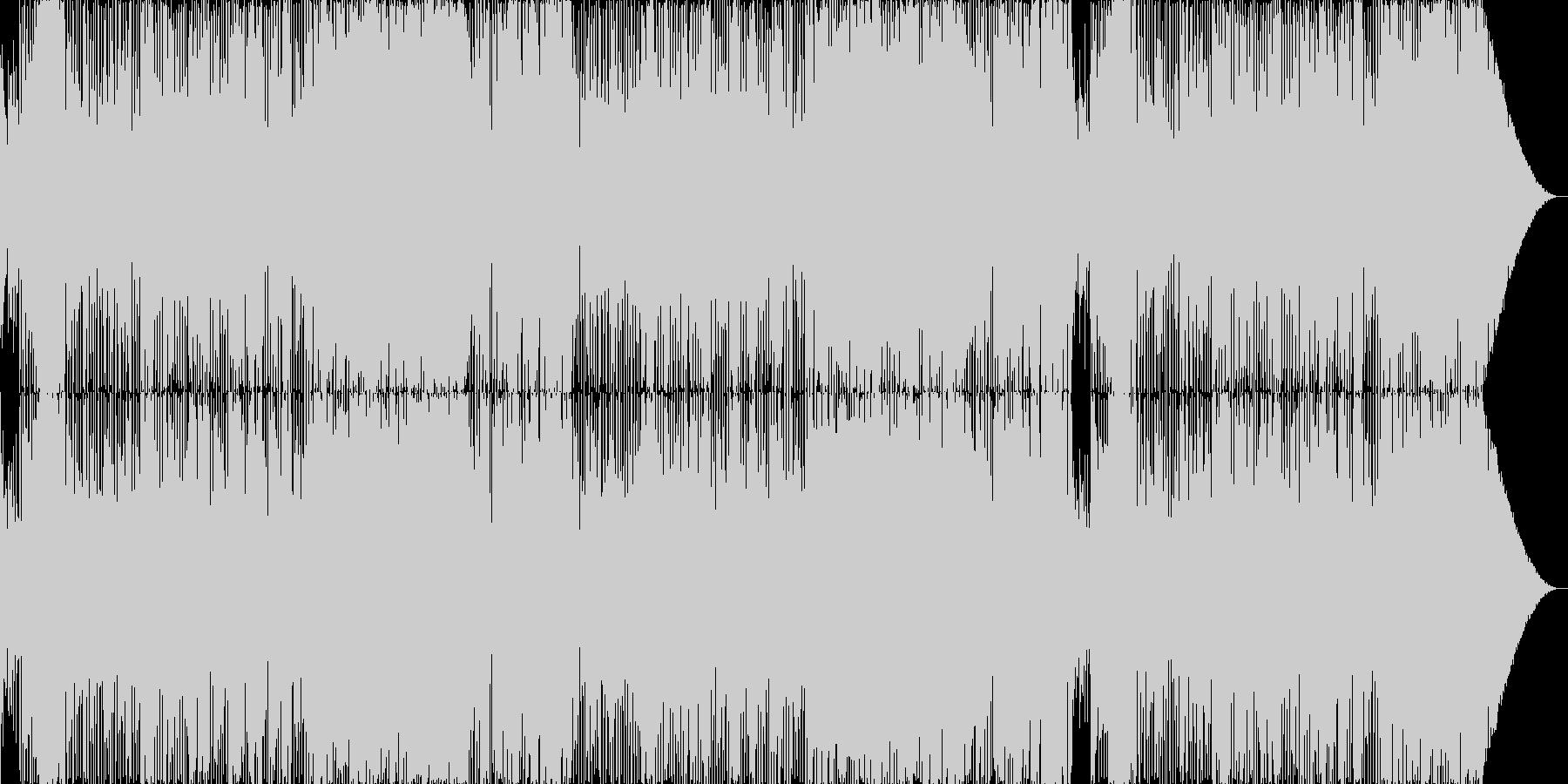 好印象のフュージョンポップの未再生の波形