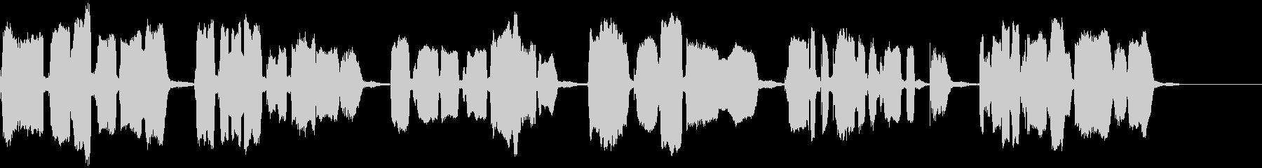 かごめかごめ(響1)【神秘的な少女】の未再生の波形