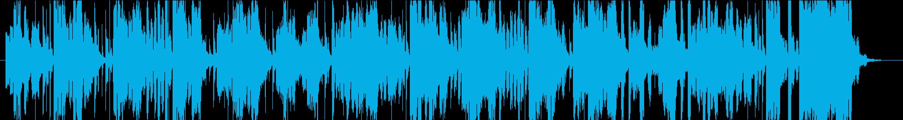 60秒CM ワクワクする事をコソコソと の再生済みの波形