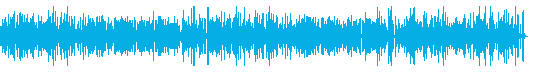 A cheerful and cute waltz that seems to flow in an amusement park's reproduced waveform
