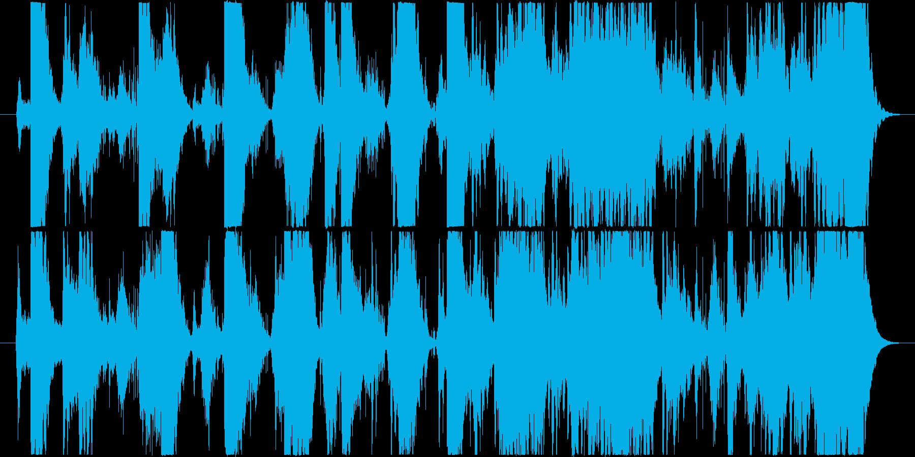 宇宙の中を遊泳してる様なBGMです。浮…の再生済みの波形