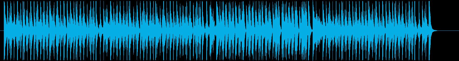 コミカル_A(アニメ・日常)の再生済みの波形