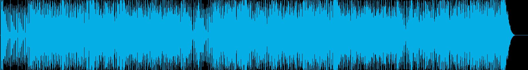 エキゾチックでノリノリなユーロビートの再生済みの波形
