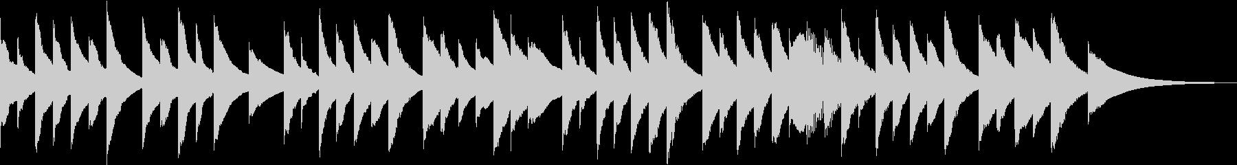 ヒーリング オルゴール 癒し の未再生の波形