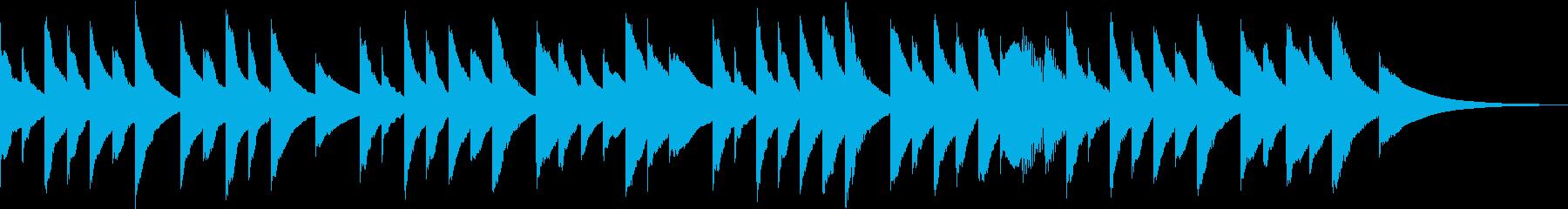 ヒーリング オルゴール 癒し の再生済みの波形