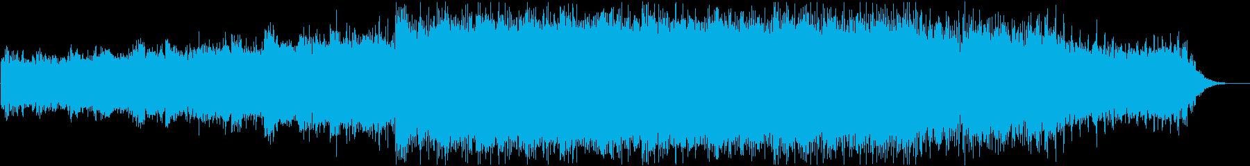 ヒーリング系BGMです(BPM80)の再生済みの波形