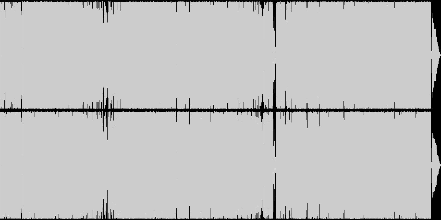 カワボのレトロックの未再生の波形