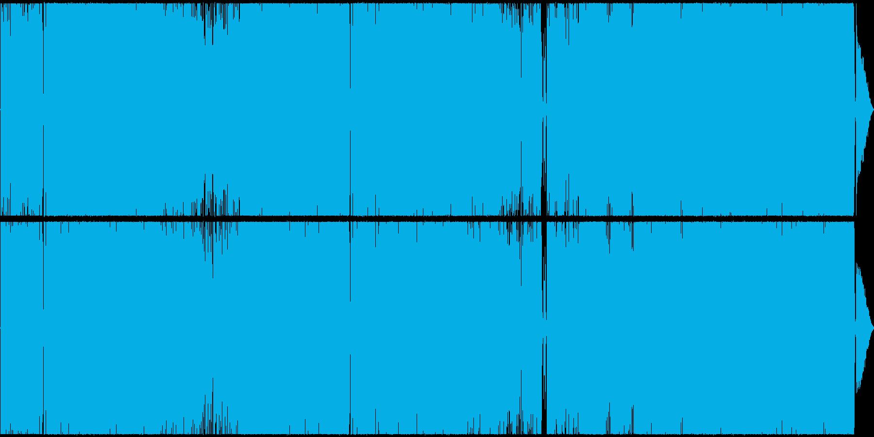 カワボのレトロックの再生済みの波形