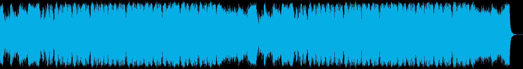 恐怖と脅威のホラーエレクトロオーケストラの再生済みの波形