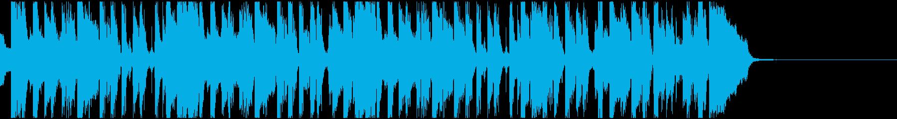 FUNKなオープニング曲の再生済みの波形