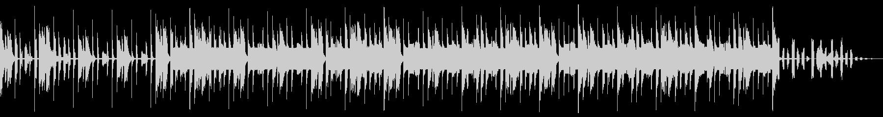 アーバンクールエレクトロニカの未再生の波形