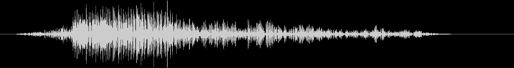 風切り音(ムチ,剣,刀など) 01Lの未再生の波形