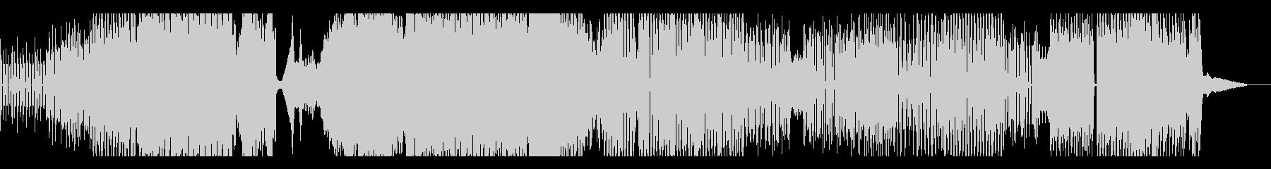 プログレッシブハウス。テンポの変更...の未再生の波形