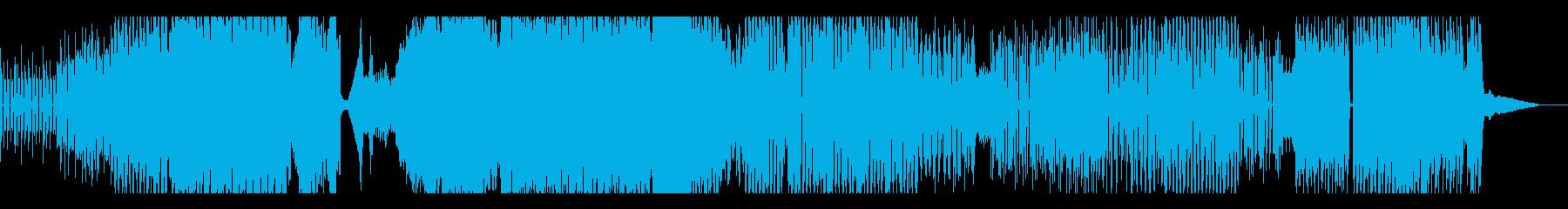 プログレッシブハウス。テンポの変更...の再生済みの波形
