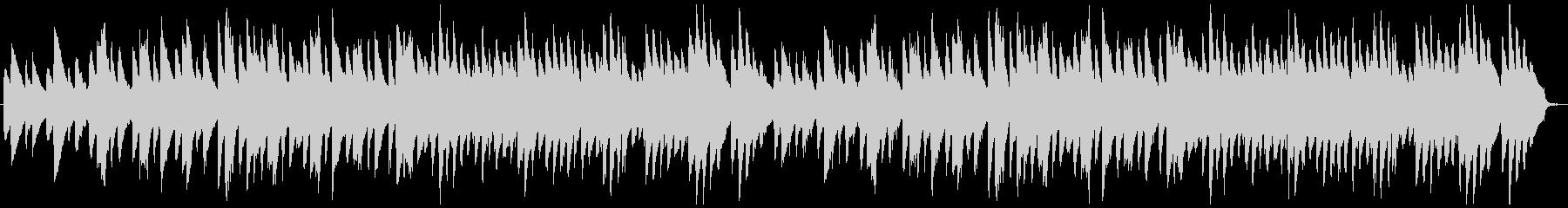 クラシカルな雰囲気のピアノアンサンブルの未再生の波形