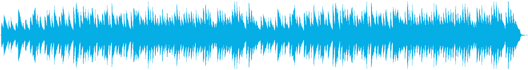 クラシカルな雰囲気のピアノアンサンブルの再生済みの波形