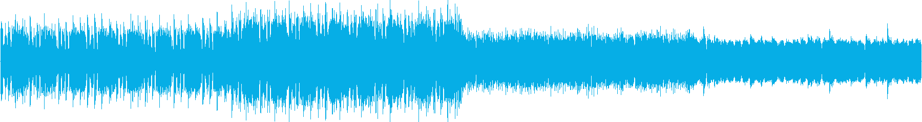緊急を要するハラハラ感のイメージEDMの再生済みの波形