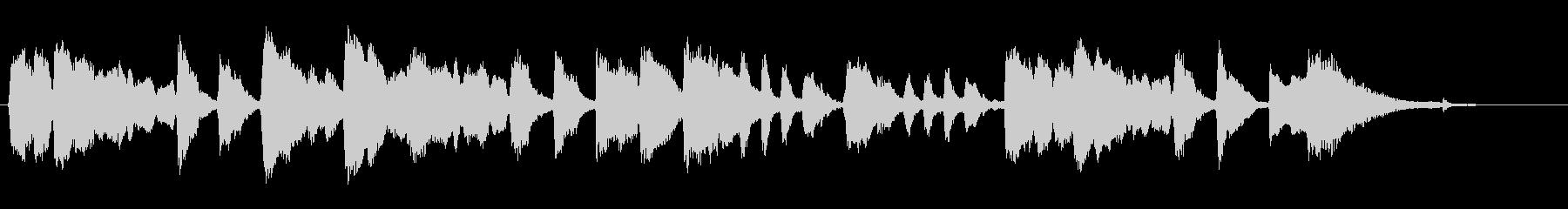 【バイオリン生演奏】鍛冶屋の槌音の未再生の波形