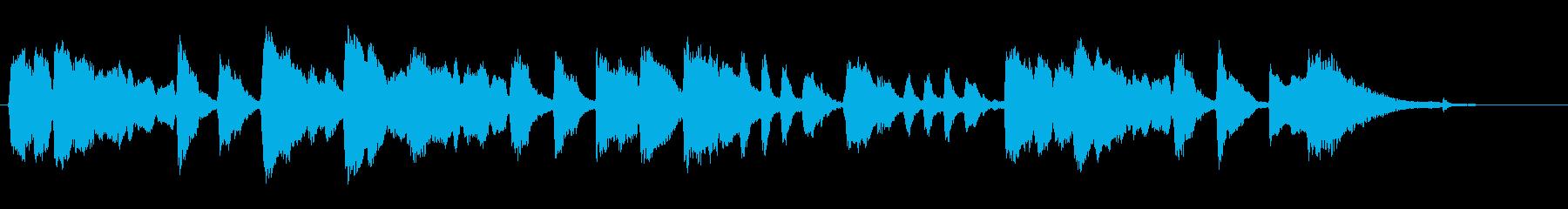 【バイオリン生演奏】鍛冶屋の槌音の再生済みの波形