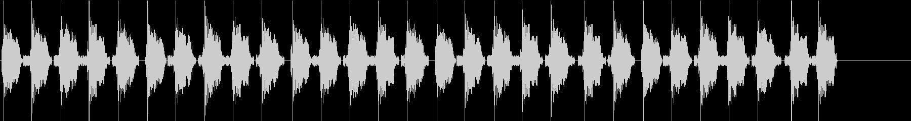 KANTププププ自主規制音1lの未再生の波形
